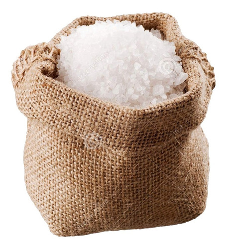 10 kilos de sal de mar orgánica 100% natural
