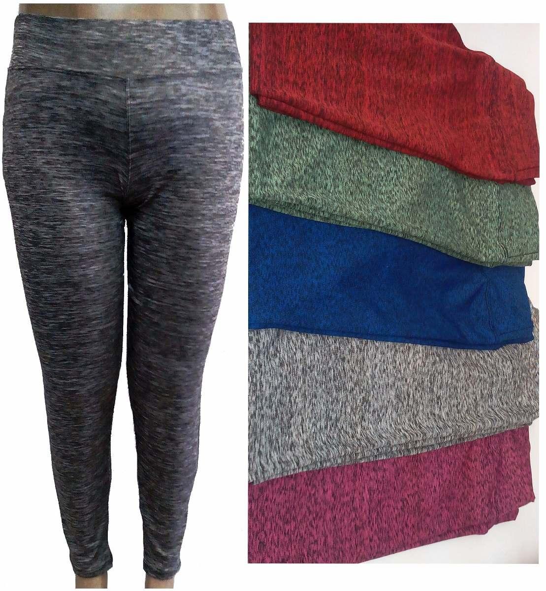 b447d026a 10 kit calça legging feminina rajada plus size ginástica. Carregando zoom.