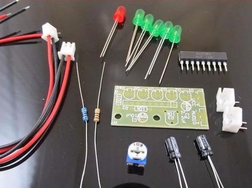 10 kit de eletrônica para montar vu meter com o ci ka2284