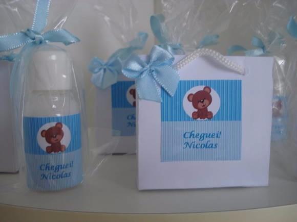 10 Kit Sacolinha Hibratante Lembrancinhas De Maternidade R 47