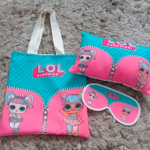 10 kits festa do pijama lol surprise !