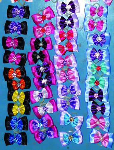 10 laços lacinho pet shop artesanato decoração fantasia