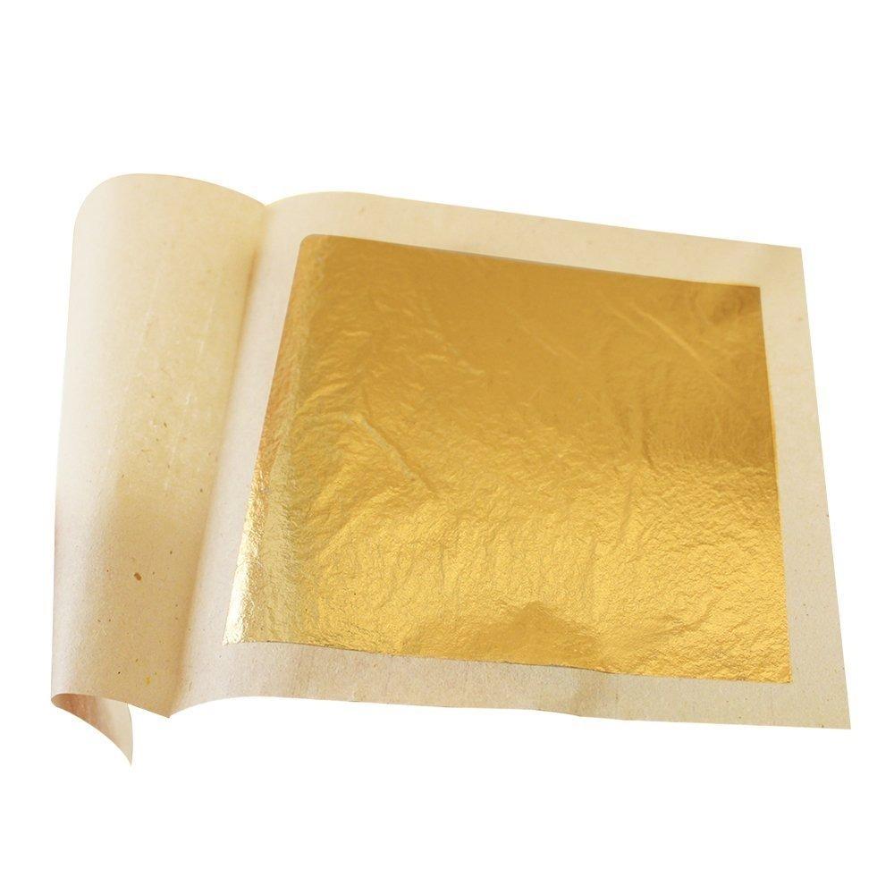 d28d19610 10 Láminas De Oro Comestible 7.8 Cm X 7.8 Cm Mi 5074 - $ 1.863,00 en ...
