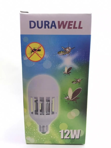 10 lampada led 12 w -anti-mosquito - inteligente 110v-220v