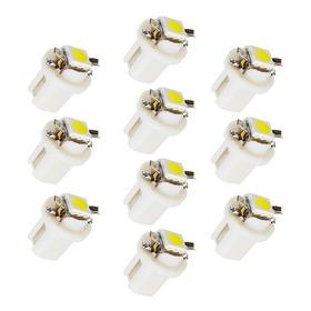 10 Lâmpadas Pinguinho T5 B8.5 D Led Painel Carro Frete 10,00
