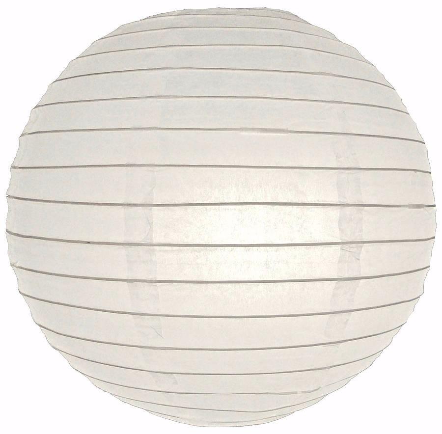 10 lamparas chinas color blanco globos 30x30cm 180 - Lamparas de sobremesa para salon ...
