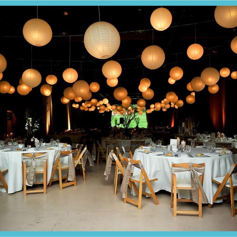 10 lamparas chinas con luz led 9 colores a elegir 399 - Decoracion de lamparas de papel ...