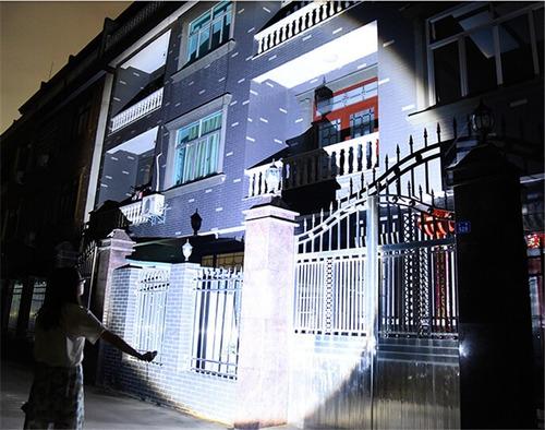 10 lamparas tacticas 3100 creeled lumens xml-t6 recargable