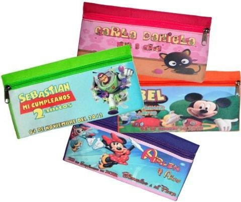 10 lapiceras personalizadas fiesta infantil recuerdo dulcero