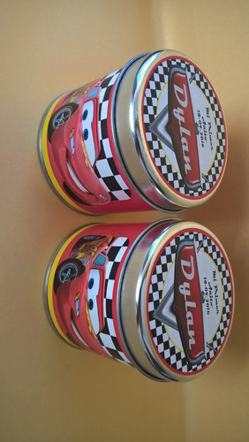 10 latas 8x7cm souvenir 100% personalizado