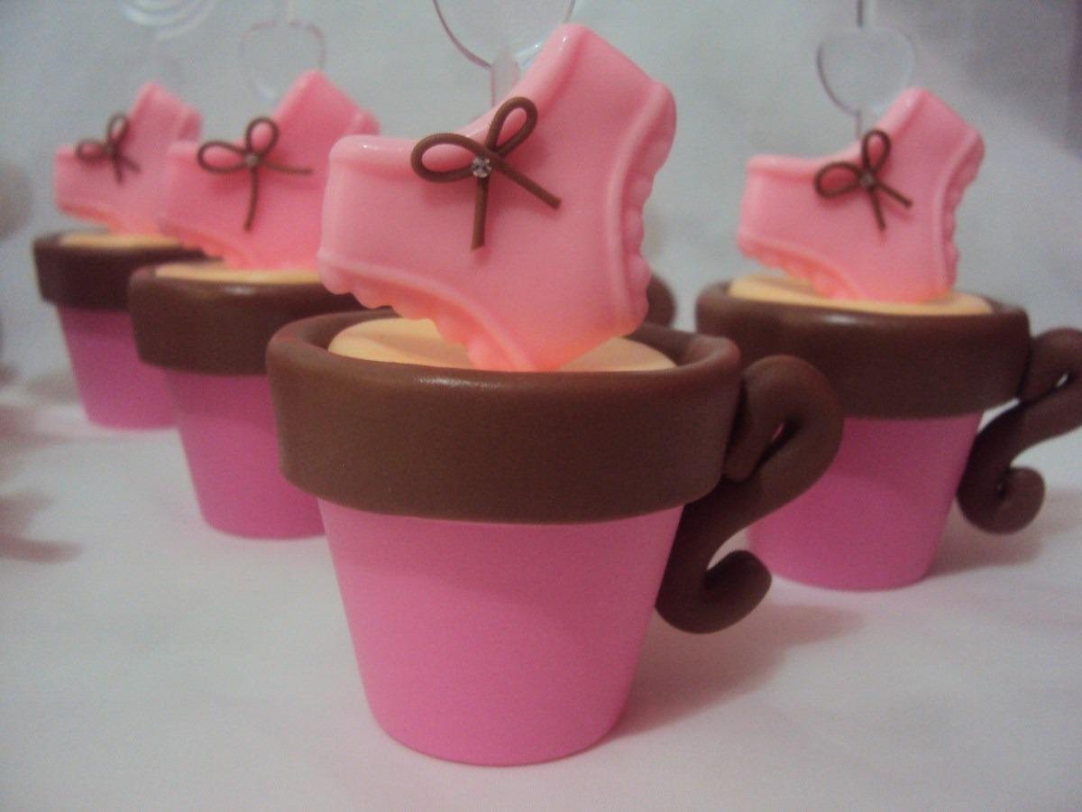 10 lembrancinhas chá de lingerie xícara em biscuit. Carregando zoom.