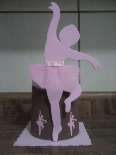 10 lembrancinhas enfeite de mesa bailarina