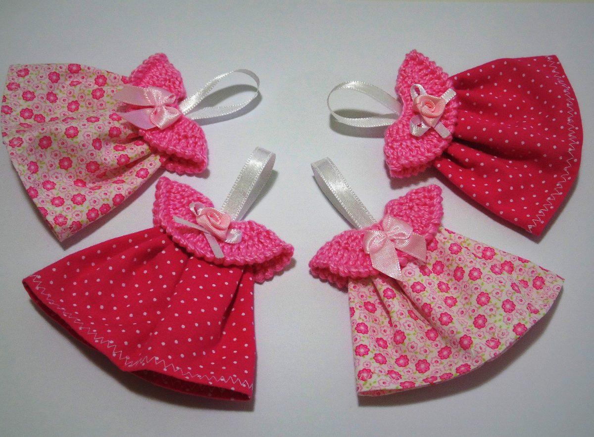 10 Lembrancinhas Maternidade Ou Chá De Bebê Mini Vestido R 2500