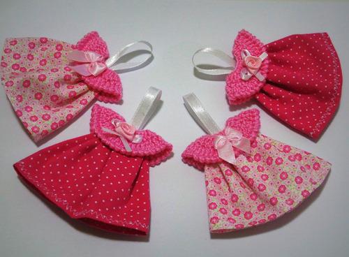 10 lembrancinhas maternidade ou chá de bebê mini vestido