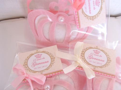 10 lembrancinhas nascimento maternidade chá de bebê princesa