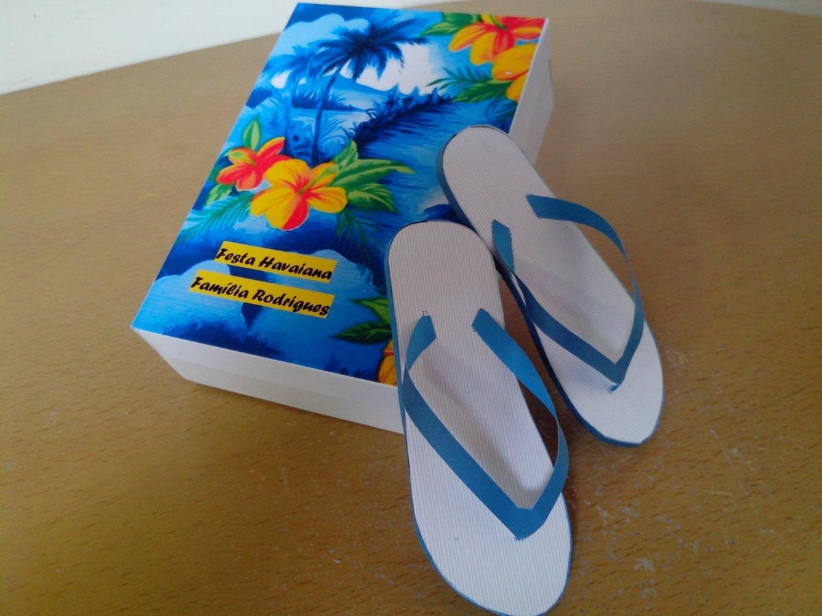 10 Lembrancinhas Para Festa Havaiana Sandálias Havaianas R 120