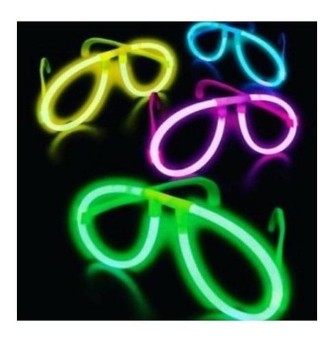 10 lentes anteojos de neon