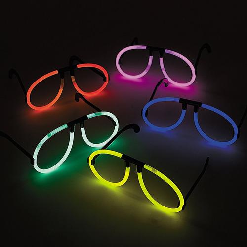 10 lentes luz neón fiesta boda xv batucada luminoso cyalume