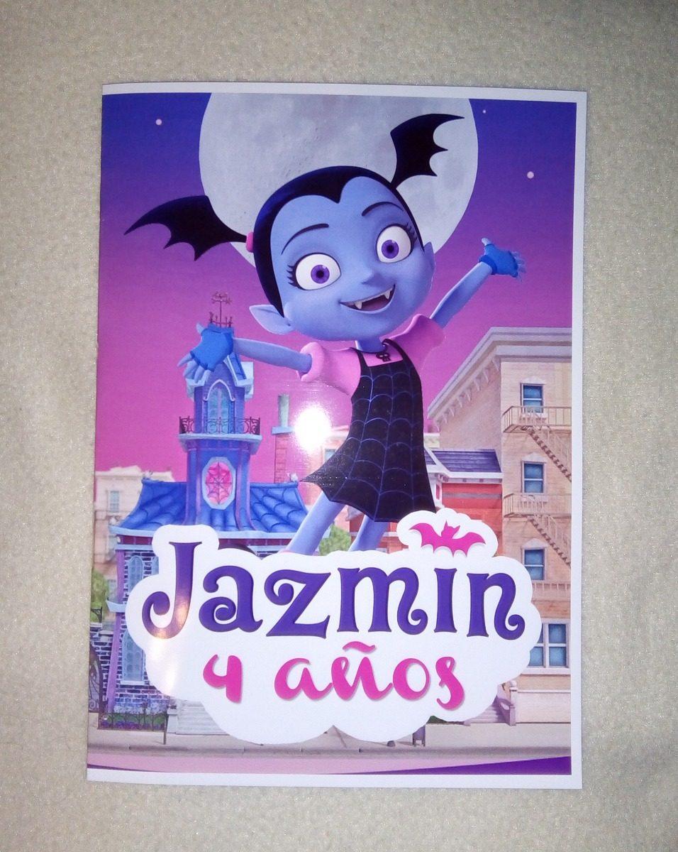 10 Libritos P/colorear Souvenirs Vampirina Cumpleaños 10x15 - $ 110 ...