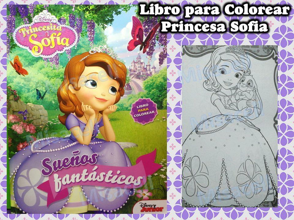 10 Libro Colorear Princesa Sofia Recuerdos De Fiesta + Envio ...