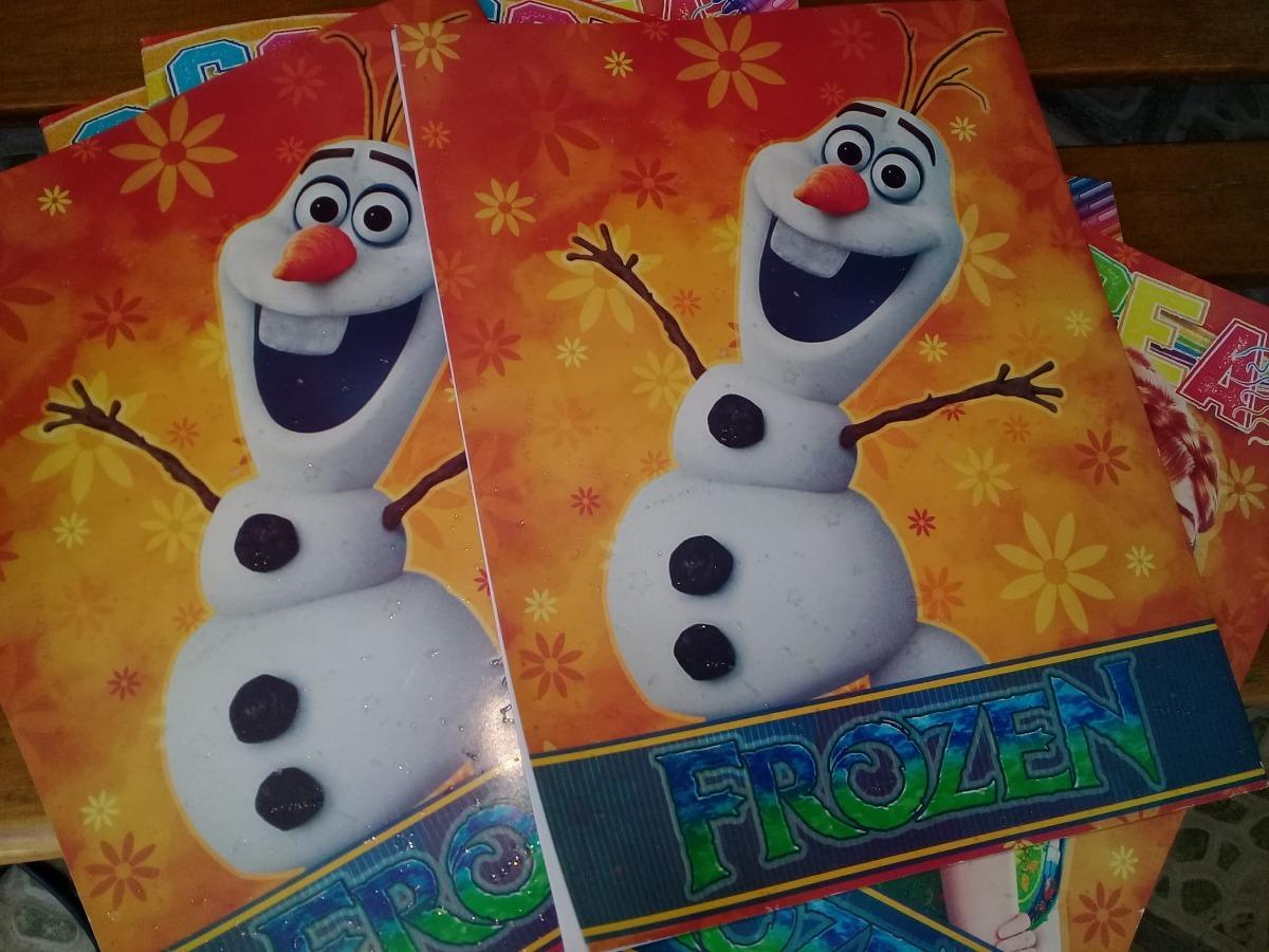10 Libro Para Colorear Frozen 16 Paginas Tamaño Carta