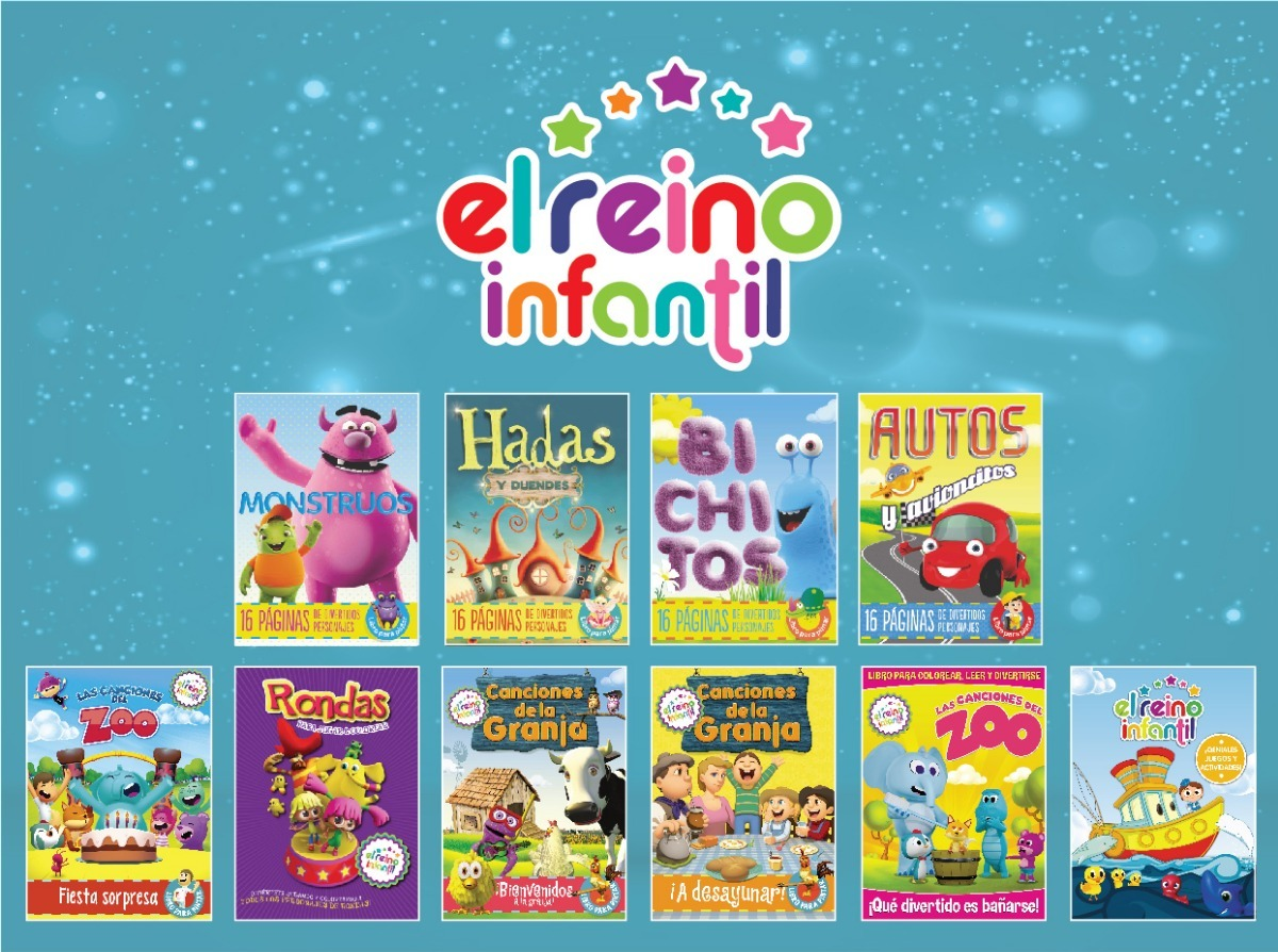 10 Libros Para Colorear - Canciones De La Granja Zenon Y Zoo - $ 170 ...