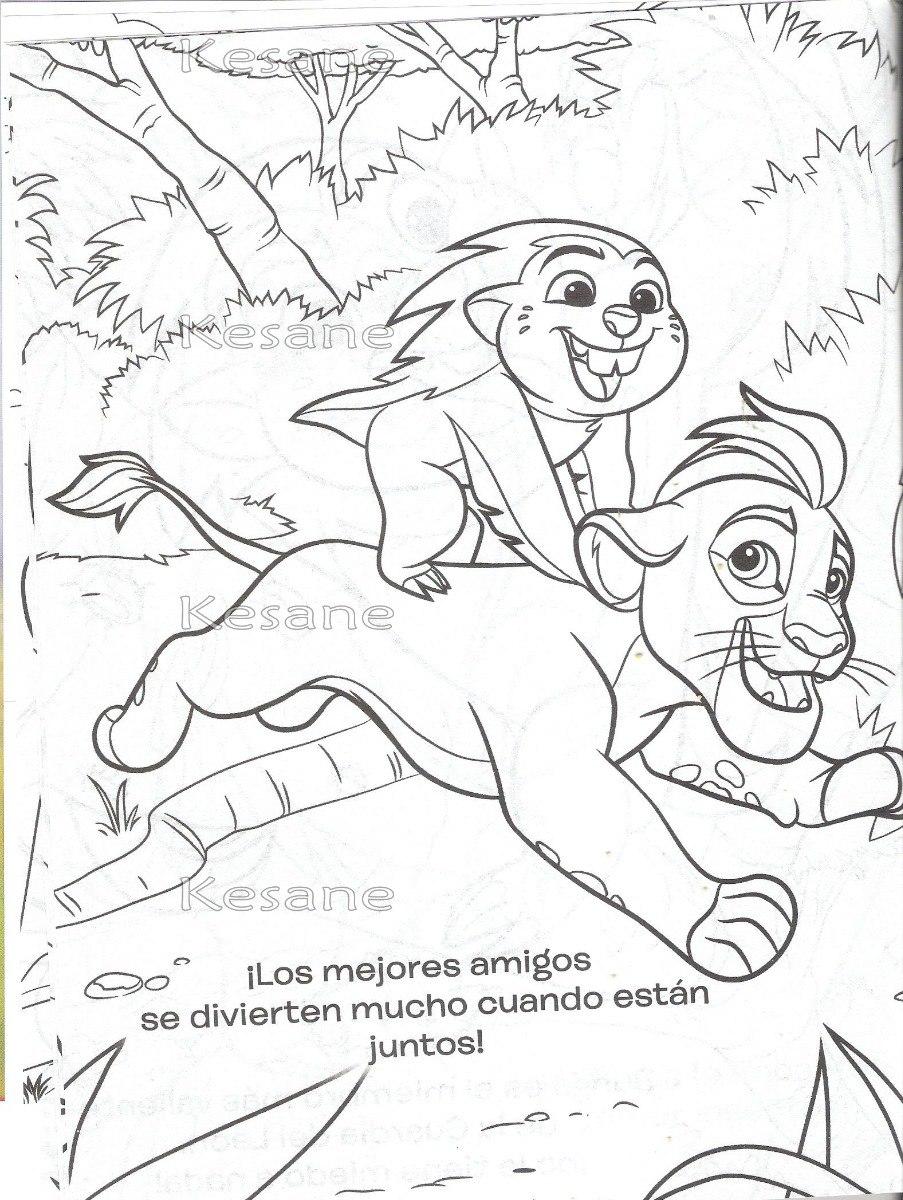 10 Libros Para Iluminar Rey Leon Mini Colorear Fiesta Bolo ...
