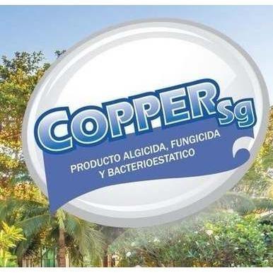 10 litros desinfectante sin cloro para albercas copper