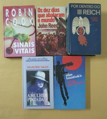10 livros - melhores autores - capa dura - lote 19