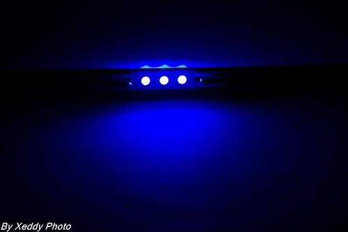 10 lâmpadas fusível led  azul  8v gradiente marantz e outros