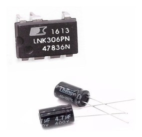 10 Lnk306pn + 20 Capacitor 400v Original Ci Lnk306