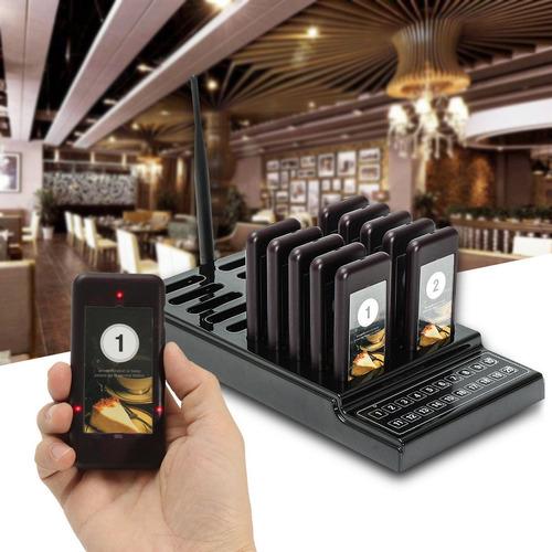 10 localizadores wireless para restaurantes y camareros