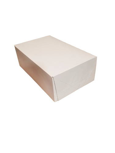 10  longitud x 6.5  ancho x 3.5  altura blanca cartón kraft