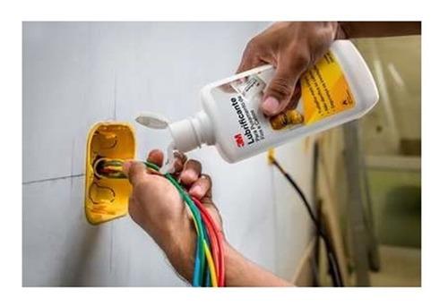 10 lubrificante para puxamentos de cabos e fios 3m 500ml kit