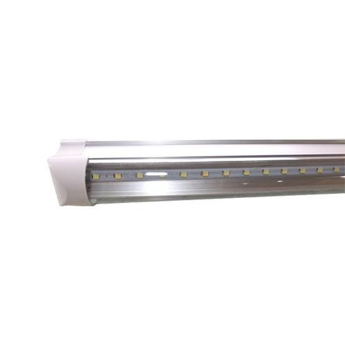 10 luminario t5-1001 tubo de led t8, 18w, 120cms, 1.20mts