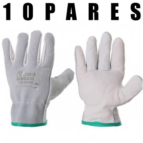 10 luva raspa mista fabrica c/10 pares- mare®