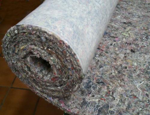 10 m² de feltro com cola /para asssoalhos carpete automotivo