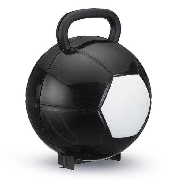 b077099b2 10 Maletas Bola Futebol Plástico Lembrancinha Preta Branca - R  63 ...