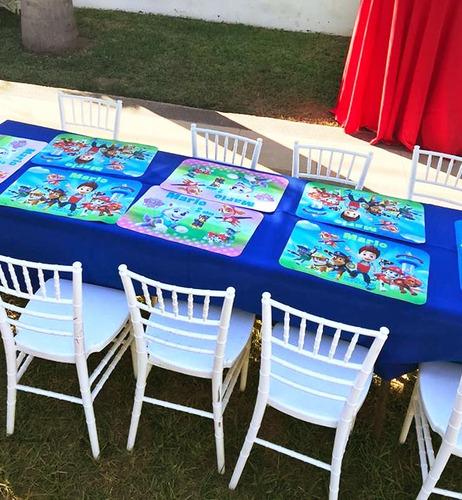 10 manteles personalizados cualquier tema fiesta infantil