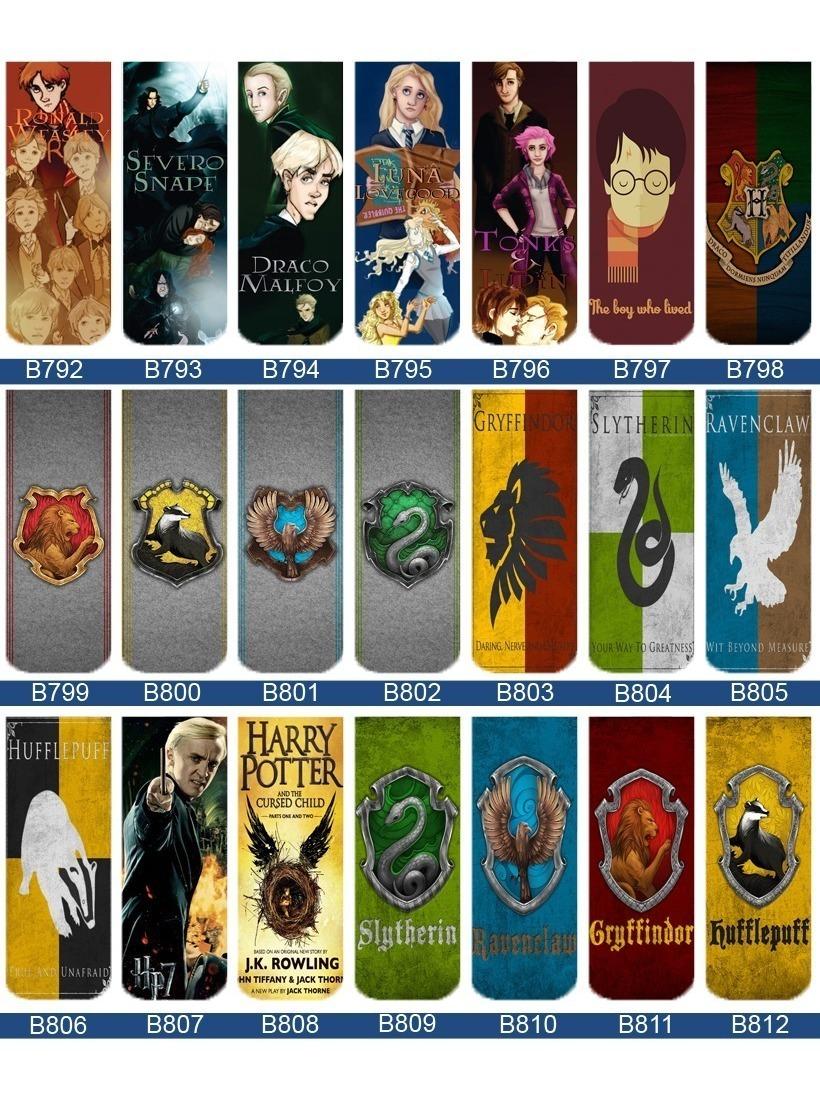 10 Marca Pagina Magneticos Harry Potter R 35 00 Em Mercado Livre