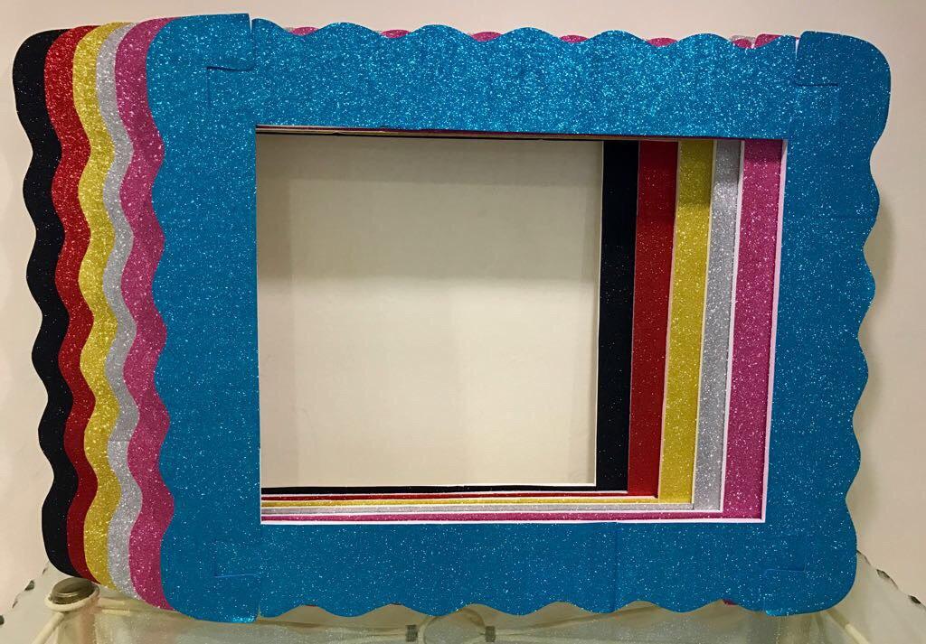 10 marcos de unicel para fotos sin forrar 1 en - Marcos para decorar ...