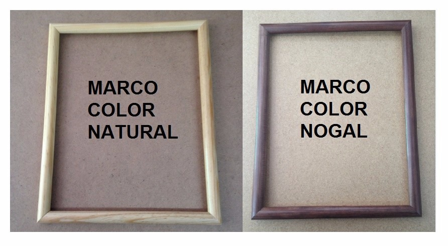 10 Marcos Madera, Fotografía: 8x10, 20x25cm. Todo Incluido ...