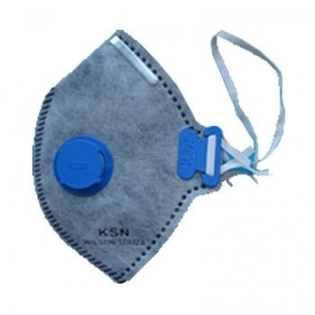 10 Mascara Descartável Ksn Respiradores Com Válvula - R  24,99 ... e6c49fe875