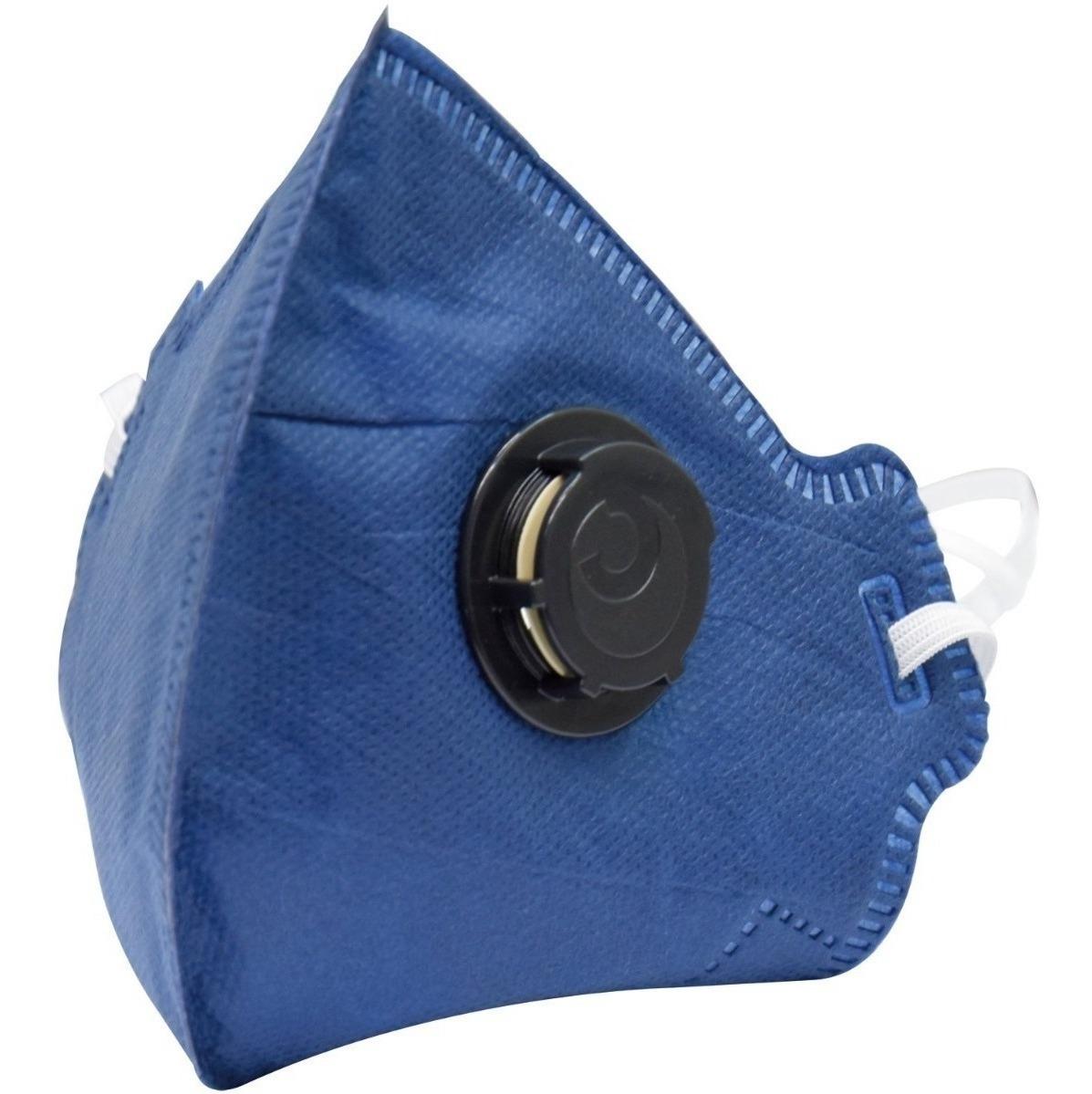 10 Mascara Pff2 Proteção Gripe H1n1 - Equivalente N95 - R$ 74,90 ...
