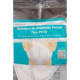 10 Mascaras De Proteção Facial Pff2 Sem Valvula