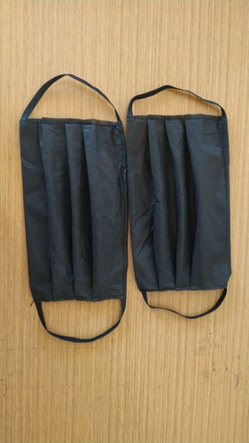 10 máscaras de proteção lavável reutilizável tecido tnt 50
