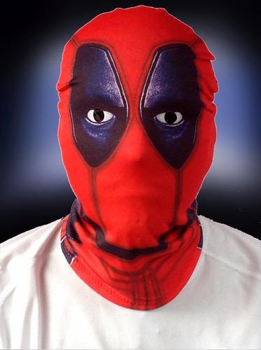 10 máscaras deadpool y personajes de terror varios modelos