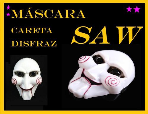 10  máscaras saw cotillón disfraz juego del miedo