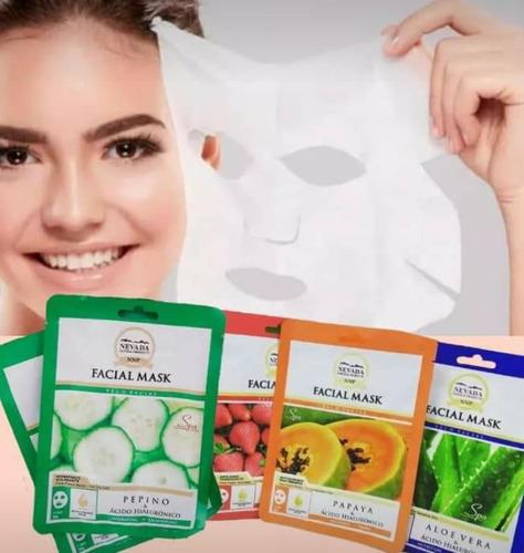 10 mascarillas ácido hialurónico (envío gratis)