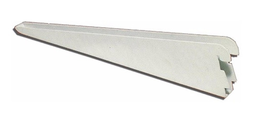 10 mensula reforzadas 17 cm doble enganche estantes 0219